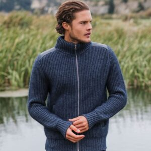 Possum Merino Mink Forrester Jacket in River