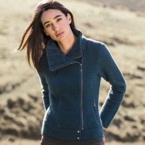 Possum Merino Untouched World Felted Fjord Jacket in Crevasse Lifestyle