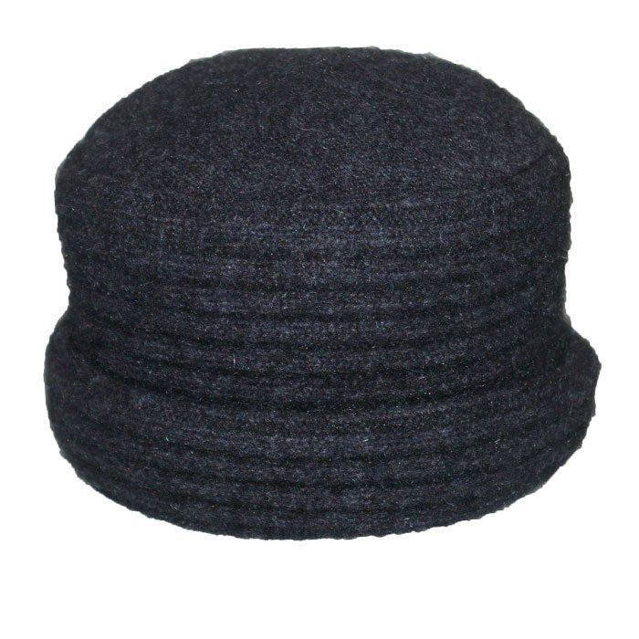 Possum Merino Felted Hat in Graphite