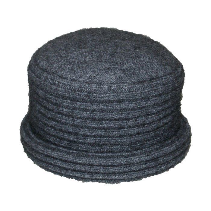 Possum Merino Felted Hat in Slate