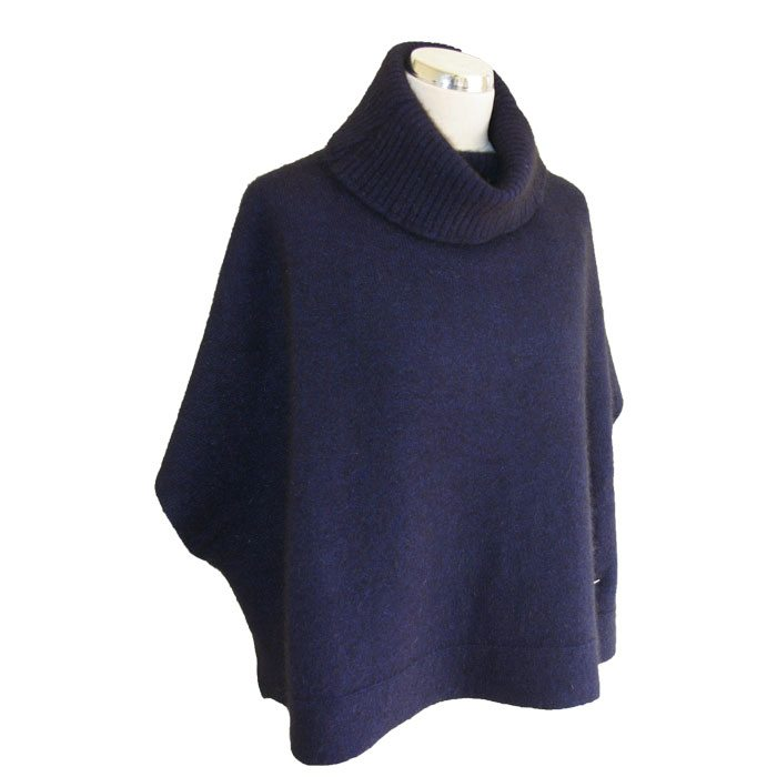 Possum Merino Lanarch Cape Navy Still