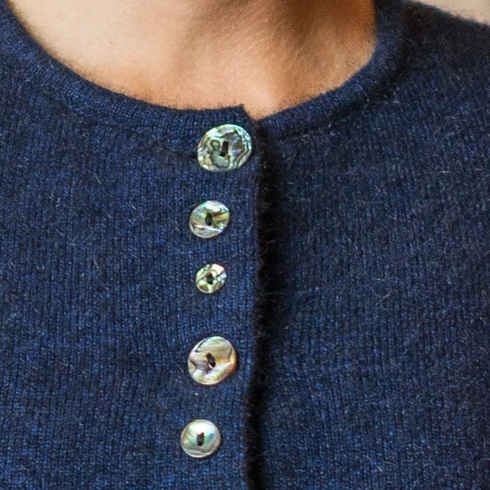Possum Merino Shell Cardigan Lifestyle Detail