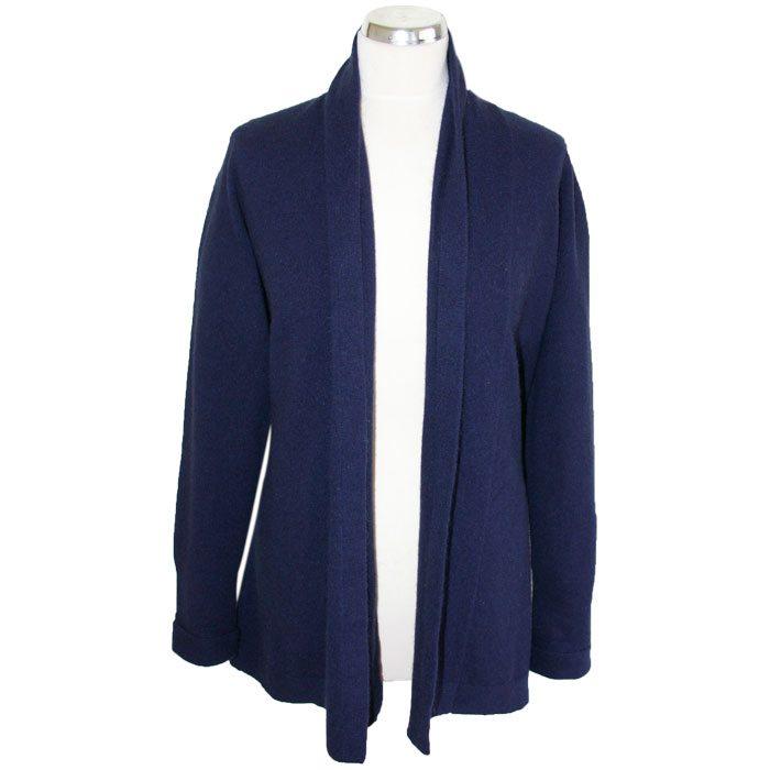 Possum Merino Wrap Jacket in Twilight