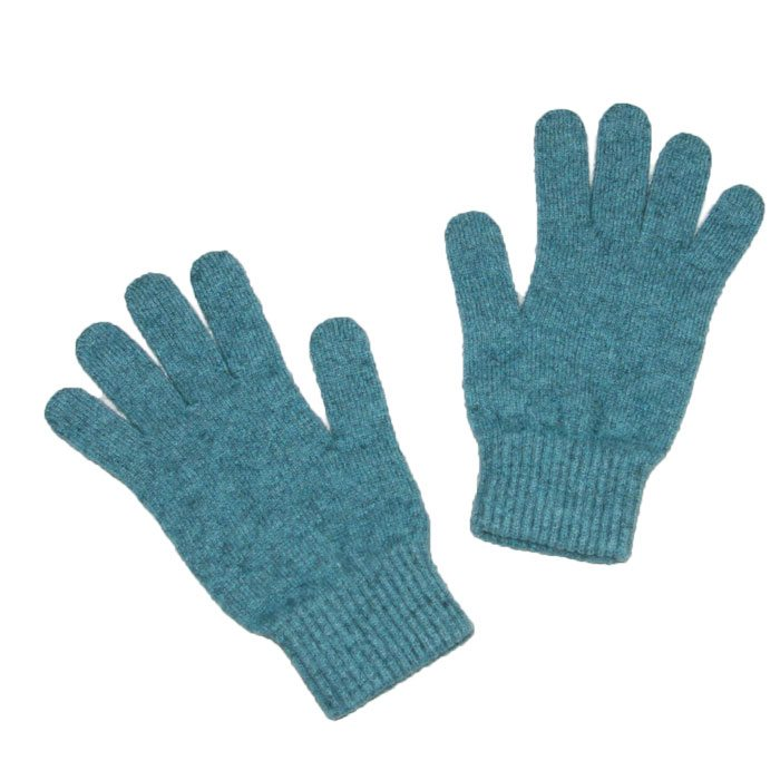 Possum Merino Gloves in Mist