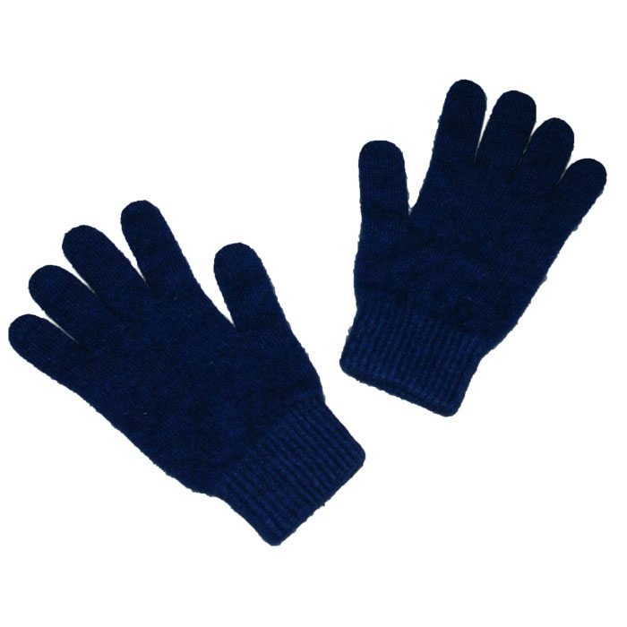 Possum Merino Gloves in Zephyr Navy Blue