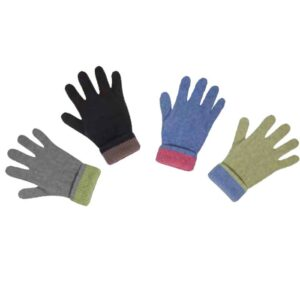 Possum Merino Native World Two Tone Gloves
