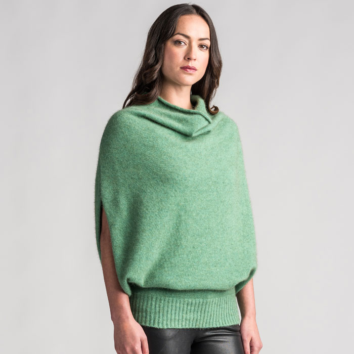 Sale Possum Merino MM Cape in Aloe