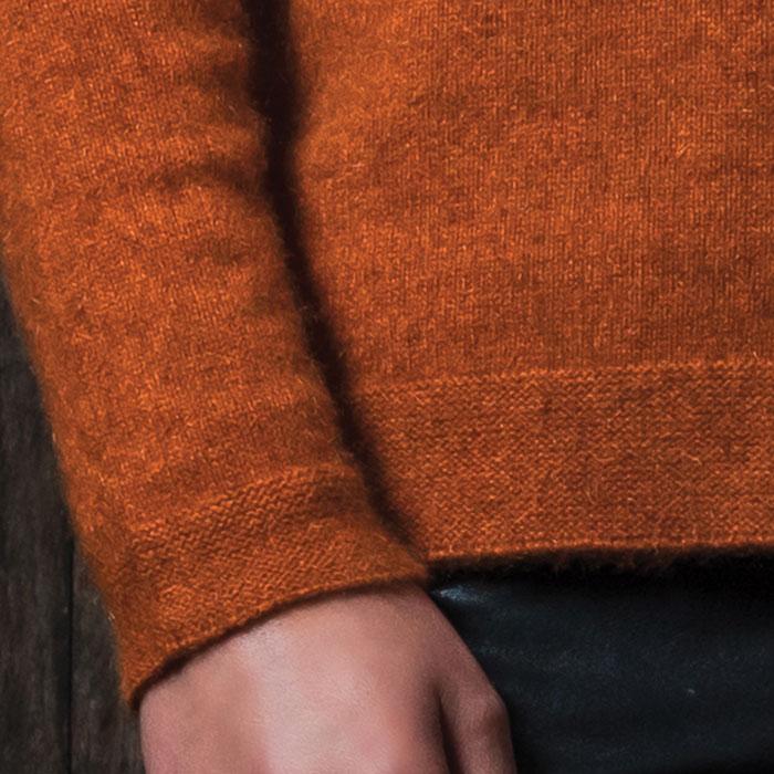 Possum Merino Sale Relaxed Sweater Detail 2