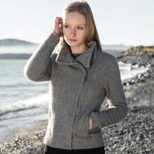 Possum Merino Untouched World Felted Fjord Jacket in Loft Lifestyle