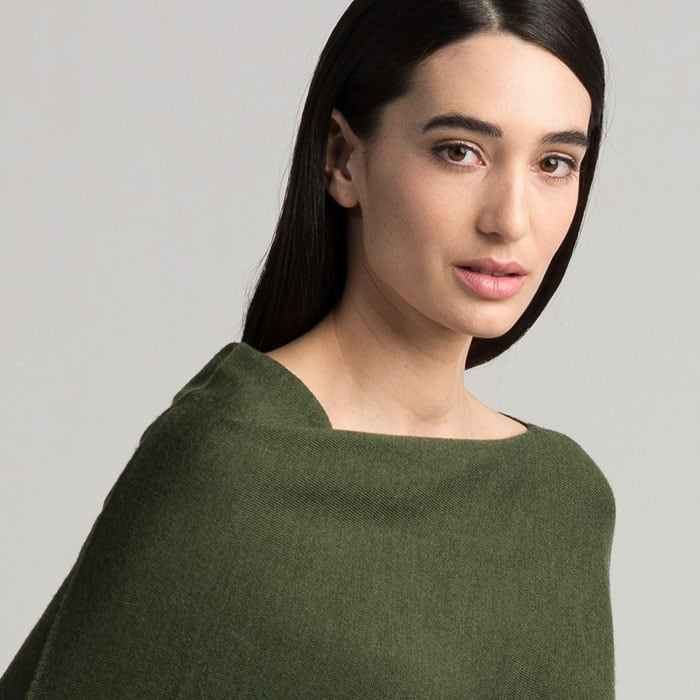 Possum Merino Untouched World Cubic Sweater in Serpentine Neck Detail