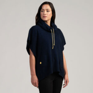 Merino Mink Move Cape in Zephyr