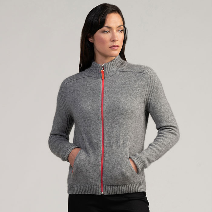 Merino Mink Move Jacket in Loft