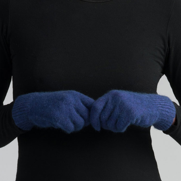 Possum Merino MM Gloves in Duke