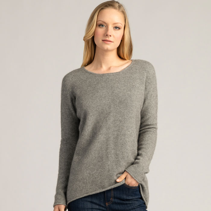 Possum Merino Untouched World Essential Sweater in Loft