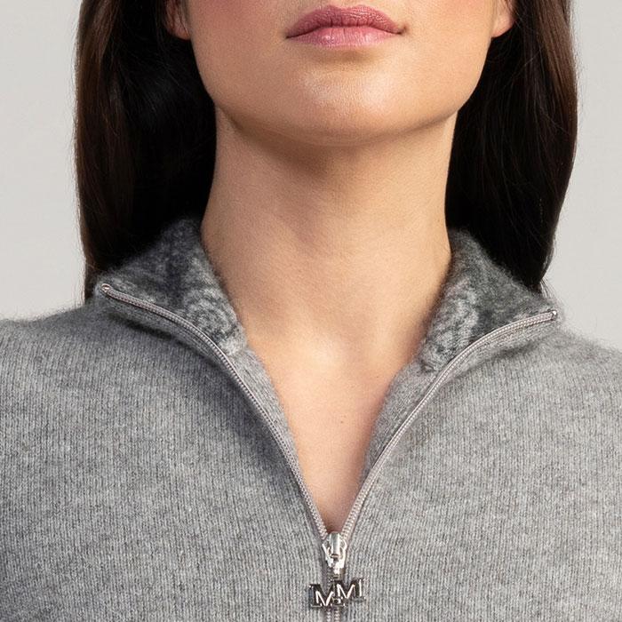 Merino Mink Felted Jacket in Loft Collar Detail