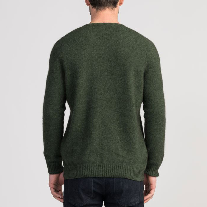 Untouched World Classic V Neck in Matipo Green Back