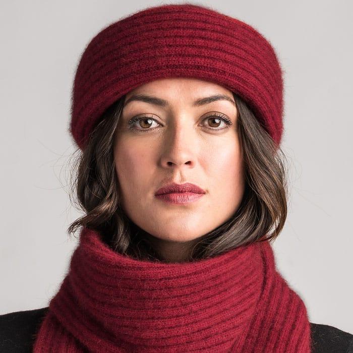 Merino Mink Felted Hat in Woolshed