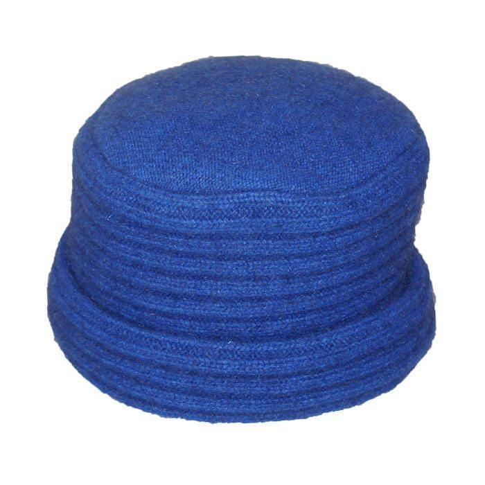 Possum Merino Felted Hat in Royal Blue
