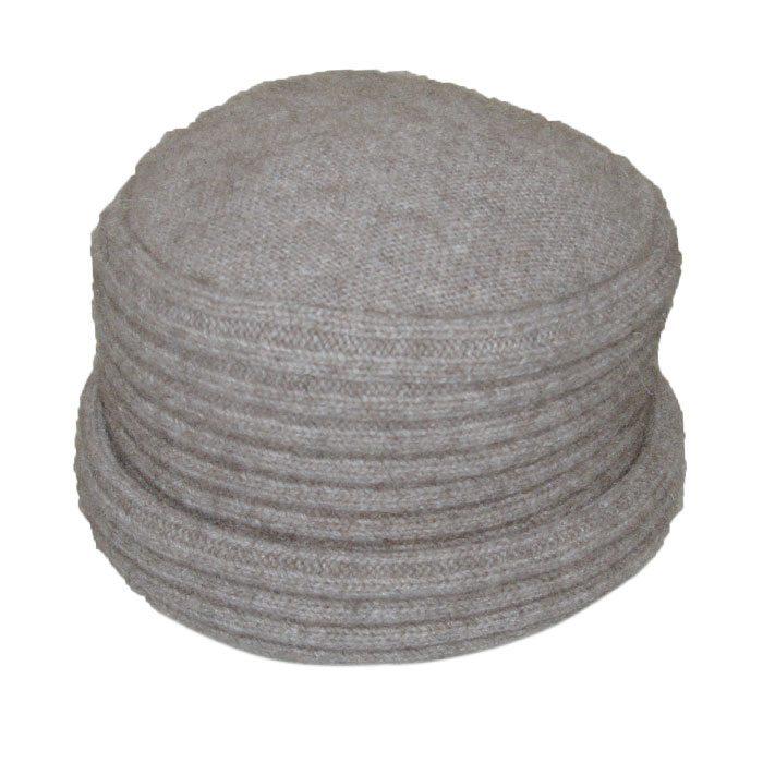 Possum Merino Felted Hat in Stone