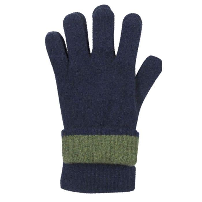 Possum Merino Native World Gloves in Riviera