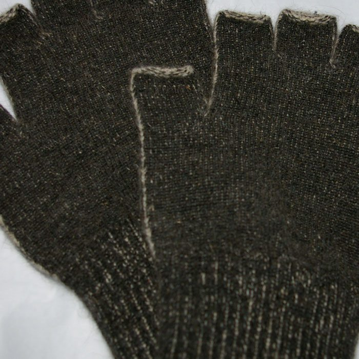 MKM Workwear Fingerless Gloves Detail