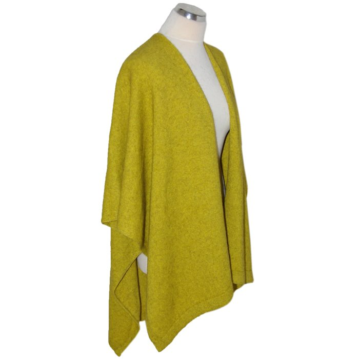 Merino Mink Resort Wrap in Golden 2