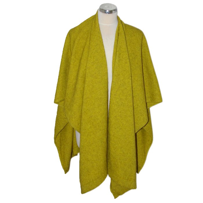Merino Mink Resort Wrap in Golden 1