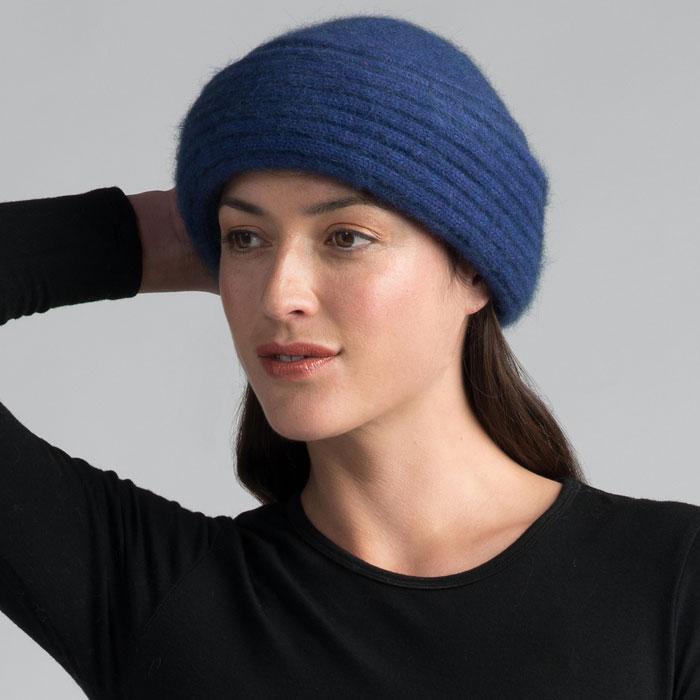 Possum Merino Felted Hat in Duke